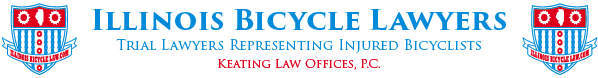Illinois Bicycle Lawyers - Mike Keating logo