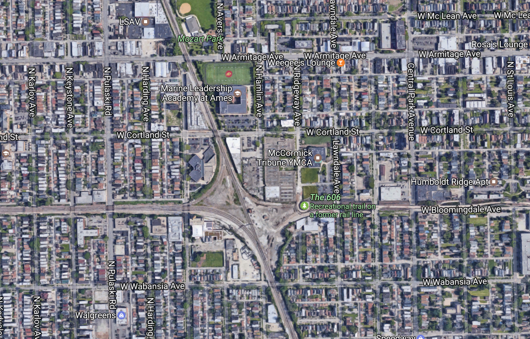 Check Out Stevens Trippy Aerial Footage of Tracks and Neighborhoods