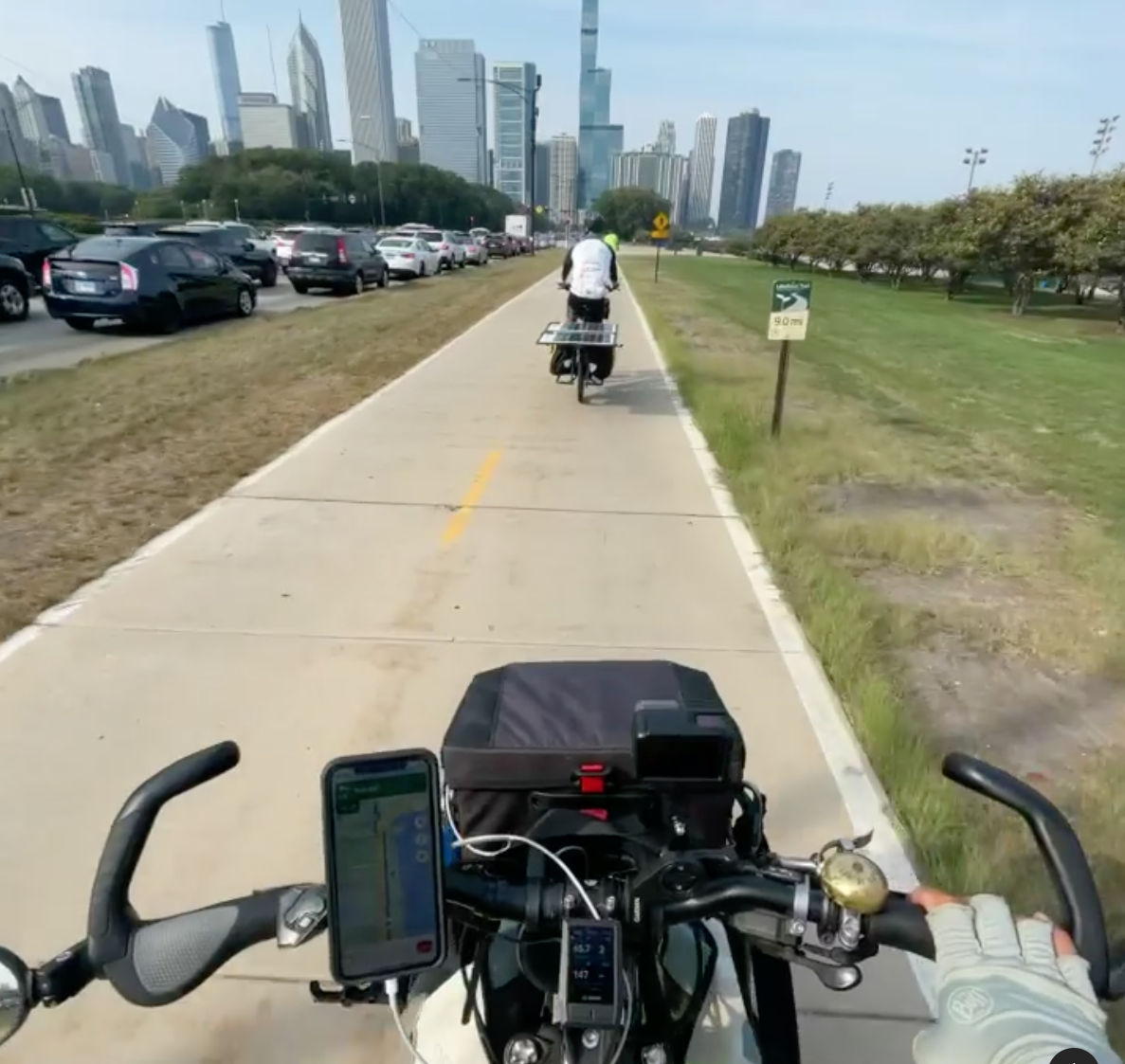 The solar-powered e-bike project SunPedal Ride makes a pit stop in Chicago - Streetsblog Chicago thumbnail